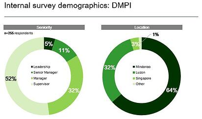 Internal Survey Respondents DMPI