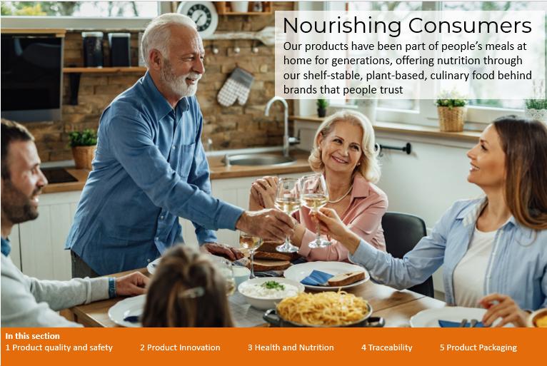 Nourishing Consumers