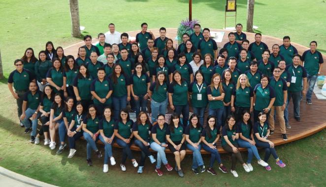 Supply Chain team with Amante A Aguilar, Supply Chain Head